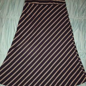 Womens long maxi skirt